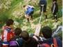 Uscita del reparto Greenpeace a Cava Maria