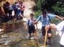 Uscita del reparto Greenpeace al fiume Irminio