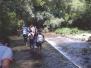Uscita reparto Greenpeace al fiume Irminio